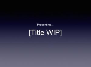 titlewip